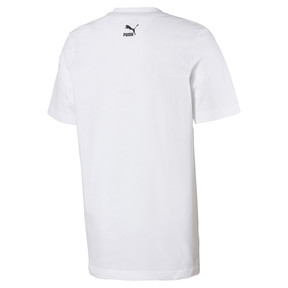 Thumbnail 2 van Snake Pack T-shirt voor mannen, Puma White, medium