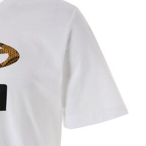 Thumbnail 4 of SNAKE PACK グラフィック Tシャツ, Puma White, medium-JPN