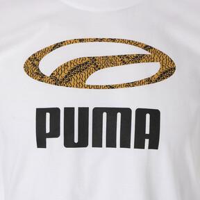 Thumbnail 6 of SNAKE PACK グラフィック Tシャツ, Puma White, medium-JPN