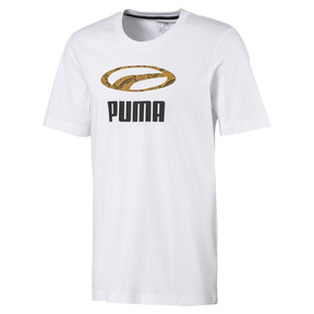 Thumbnail 1 van Snake Pack T-shirt voor mannen, Puma White, medium