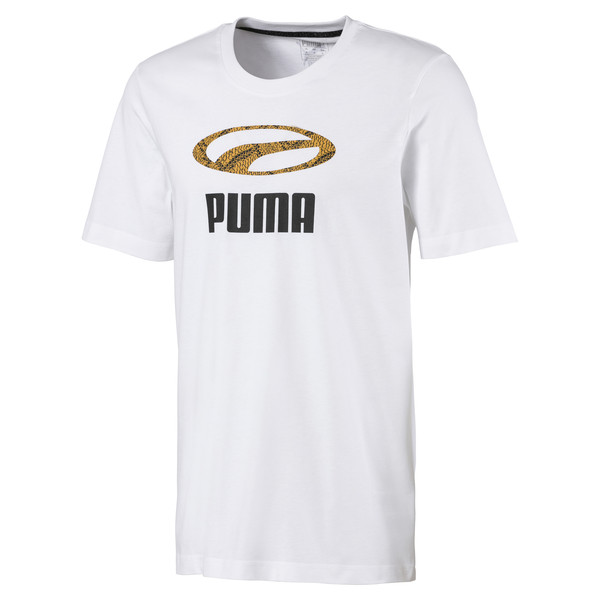 Snake Pack T-shirt voor mannen, Puma White, large