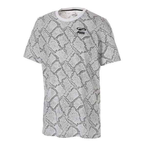 SNAKE PACK AOP Tシャツ, Puma White-AOP, large-JPN