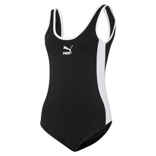 Classics T7 Damen Bodysuit, Cotton Black, large