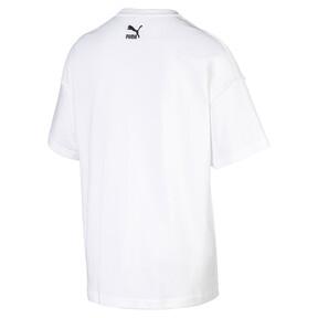 Thumbnail 2 van Rechthoekig Evolution T-shirt met print voor heren, Puma White, medium