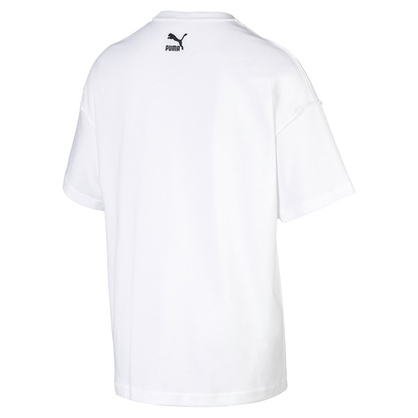 Evolution Boxy Graphic Men's Tee, Puma White, large