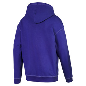 Thumbnail 2 of Evolution Boxy Men's Hoodie, Spectrum Blue, medium
