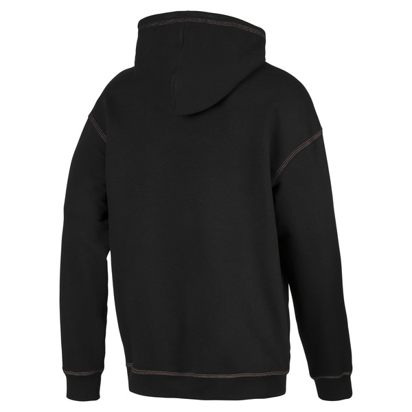 Sweat à capuche Evolution Boxy pour homme, Puma Black, large