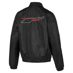 Thumbnail 2 of Evolution Statement Woven Men's Jacket, Puma Black, medium
