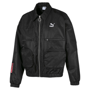 Thumbnail 1 of Evolution Statement Woven Men's Jacket, Puma Black, medium