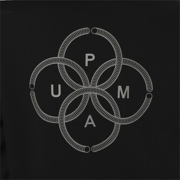 PUMA 91074 スウェット フーディー, Puma Black, large-JPN