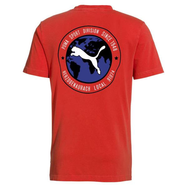 PUMA 91074 Tシャツ, High Risk Red, large-JPN