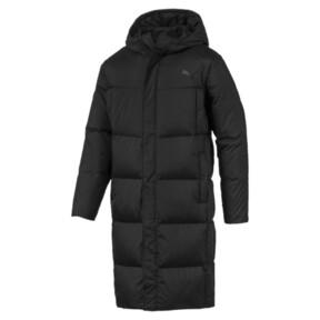 Long Oversized Men's Hooded Coat