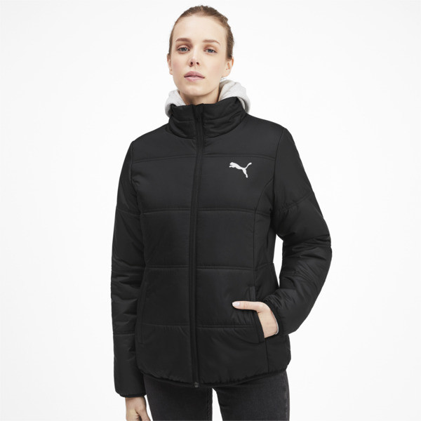 fae541c2947 Essentials Padded Women's Jacket | Puma Black | PUMA Shoes | PUMA ...