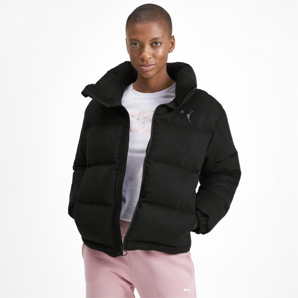 480 Style Down Women's Jacket, Puma Black, large