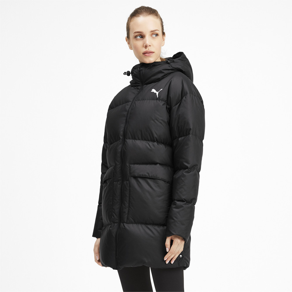 Изображение Puma Куртка 450 Long Hooded Down Coat #1