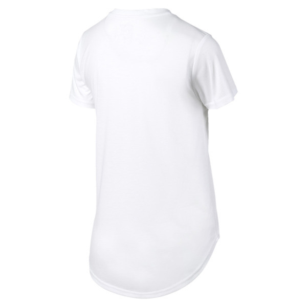 Evostripe Damen T-Shirt, Puma White, large