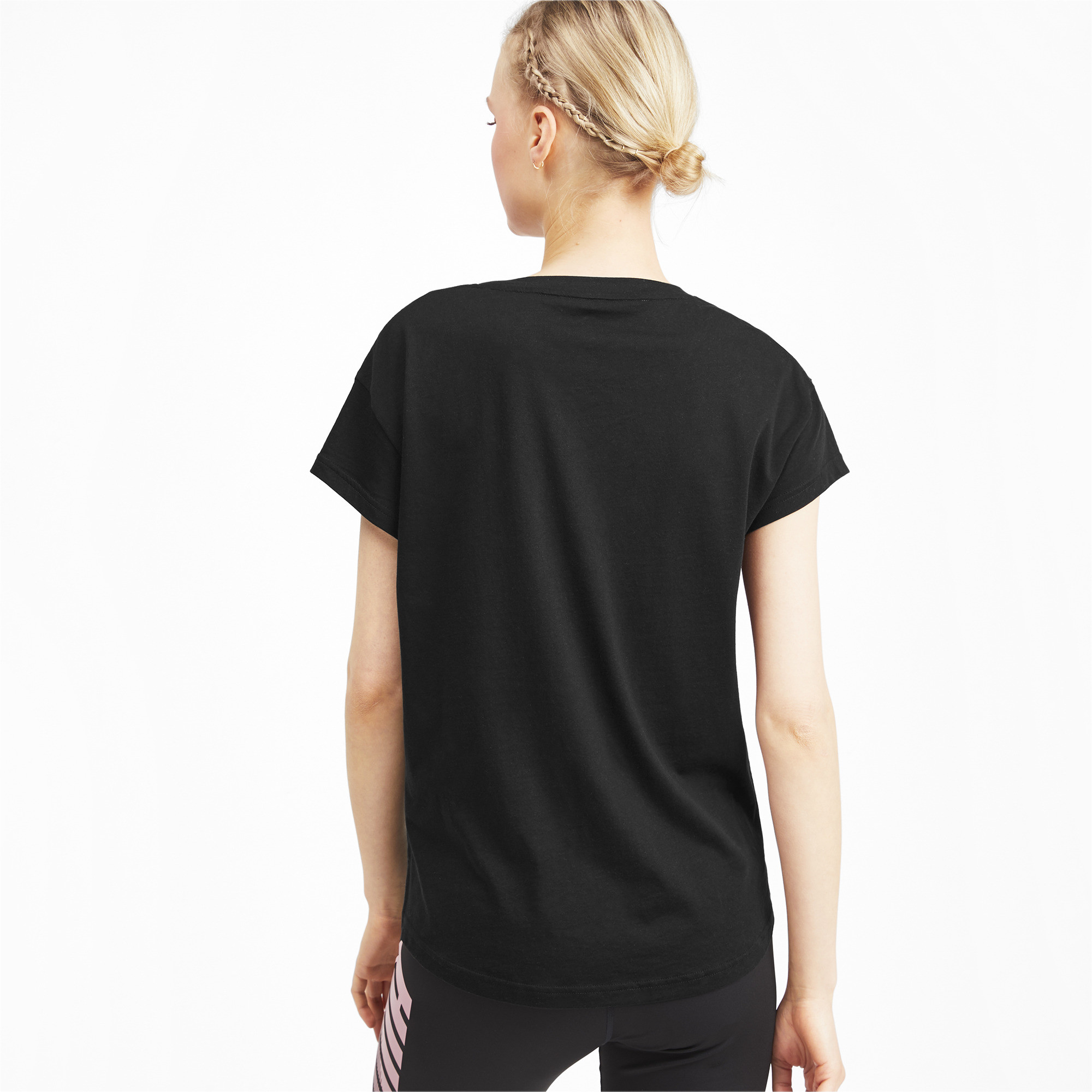PUMA-Modern-Sports-Women-039-s-Graphic-Tee-Women-Tee-Basics thumbnail 5