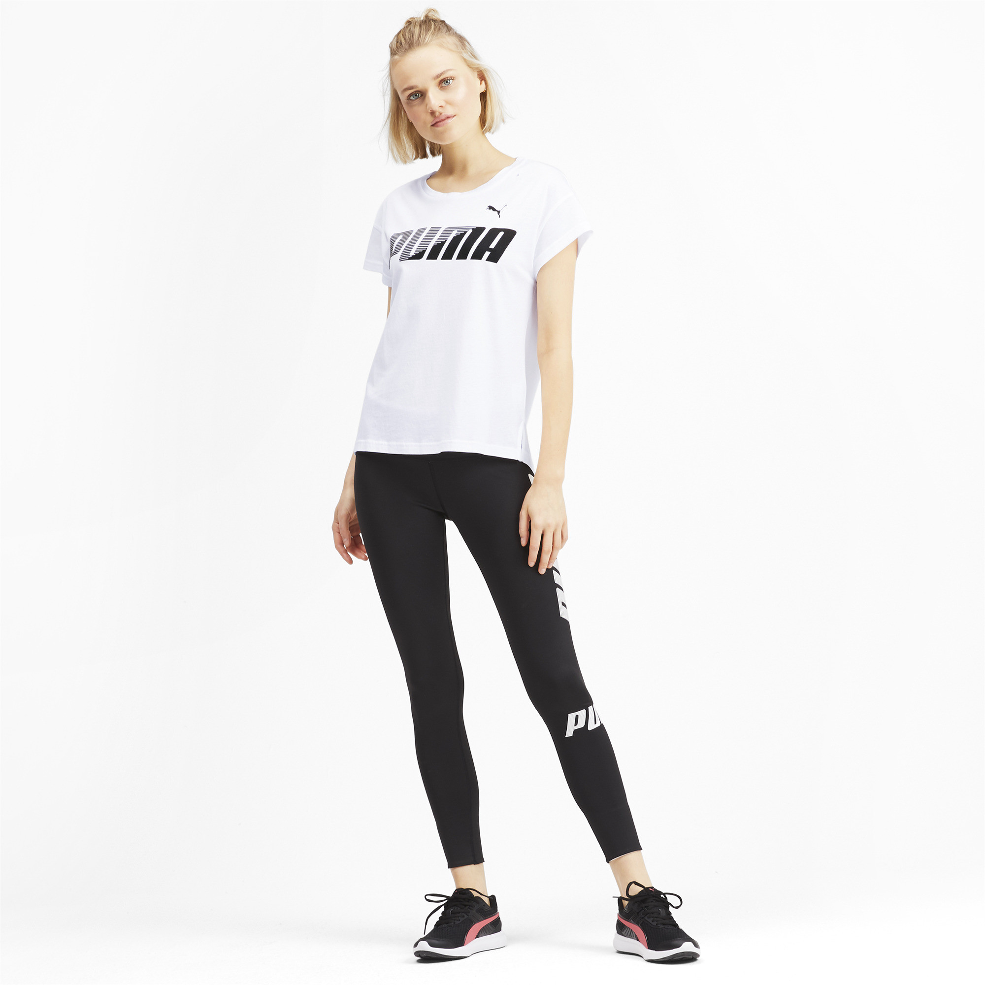PUMA-Modern-Sports-Women-039-s-Graphic-Tee-Women-Tee-Basics thumbnail 11
