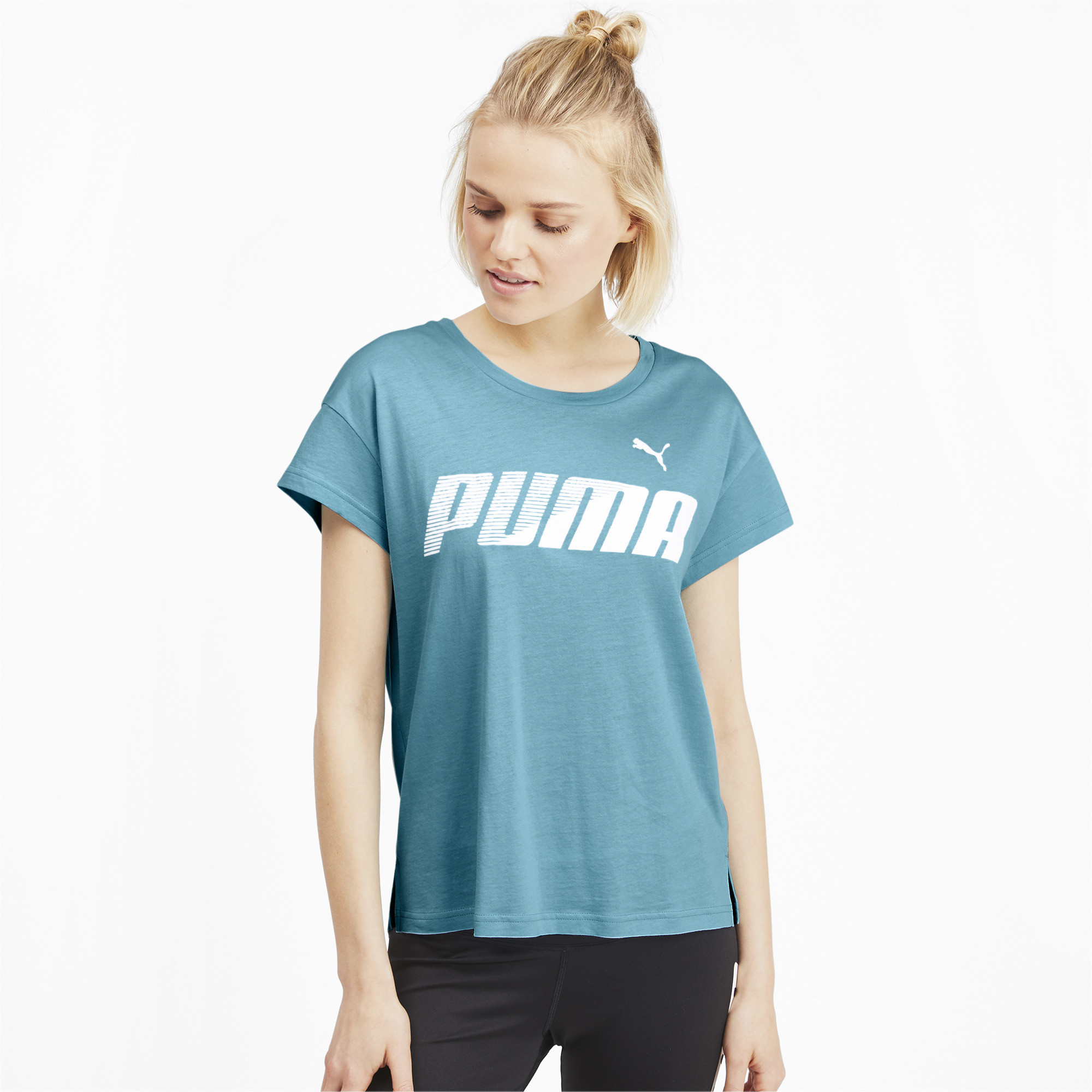PUMA-Modern-Sports-Women-039-s-Graphic-Tee-Women-Tee-Basics thumbnail 14