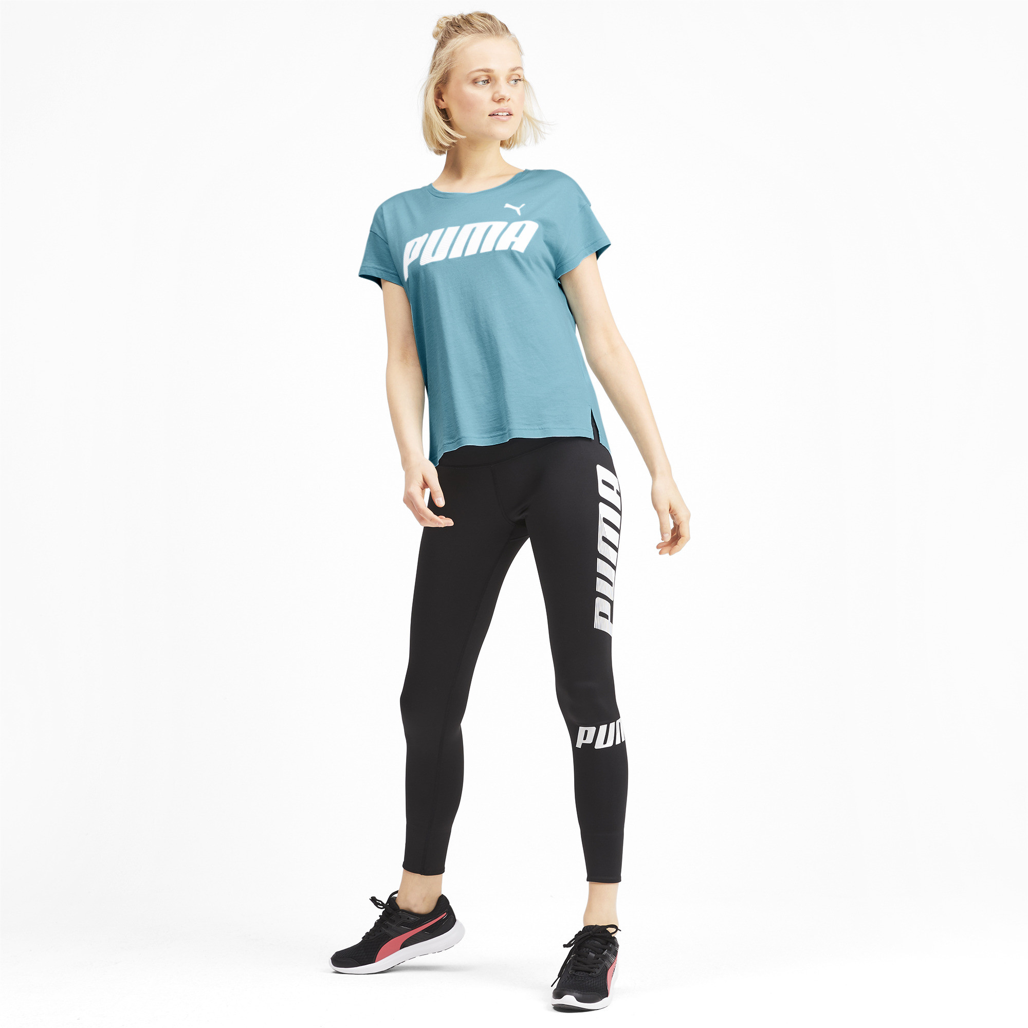 PUMA-Modern-Sports-Women-039-s-Graphic-Tee-Women-Tee-Basics thumbnail 16