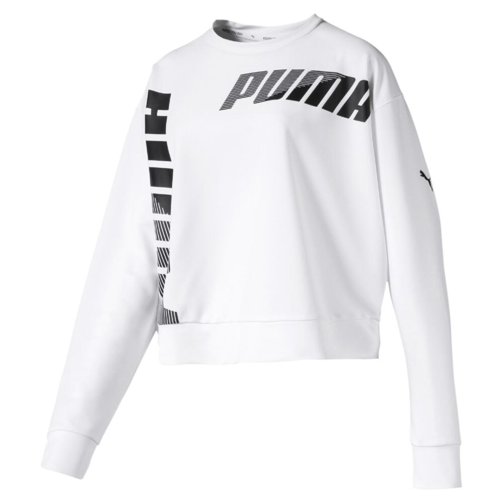 Image PUMA Modern Sport Crew Women's Long Sleeve Sweater #1