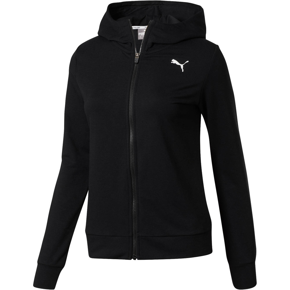 Image PUMA Modern Sport Graphic Full Zip Women's Hoodie #1
