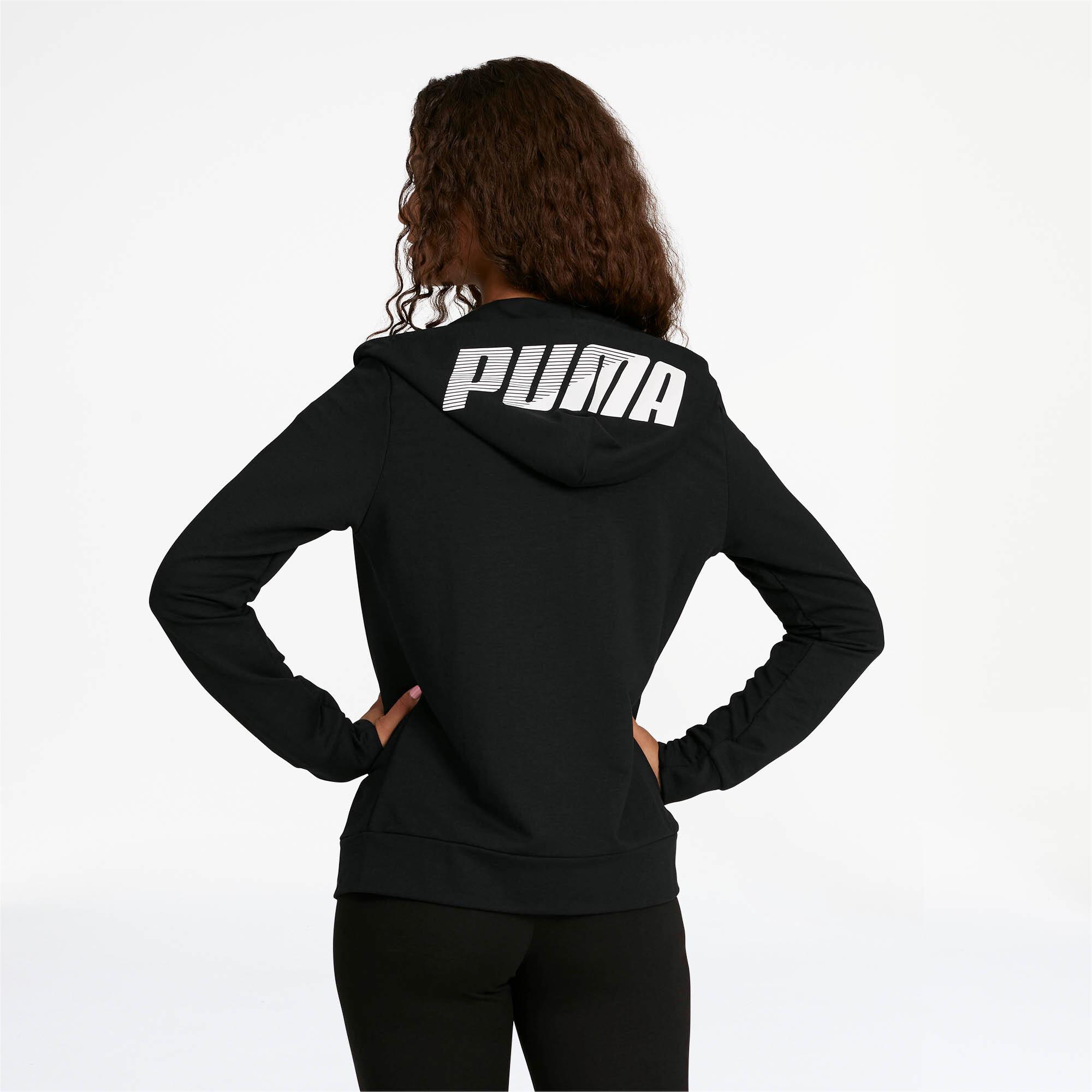 PUMA-Women-039-s-Modern-Sports-Full-Zip-Logo-Hoodie thumbnail 14