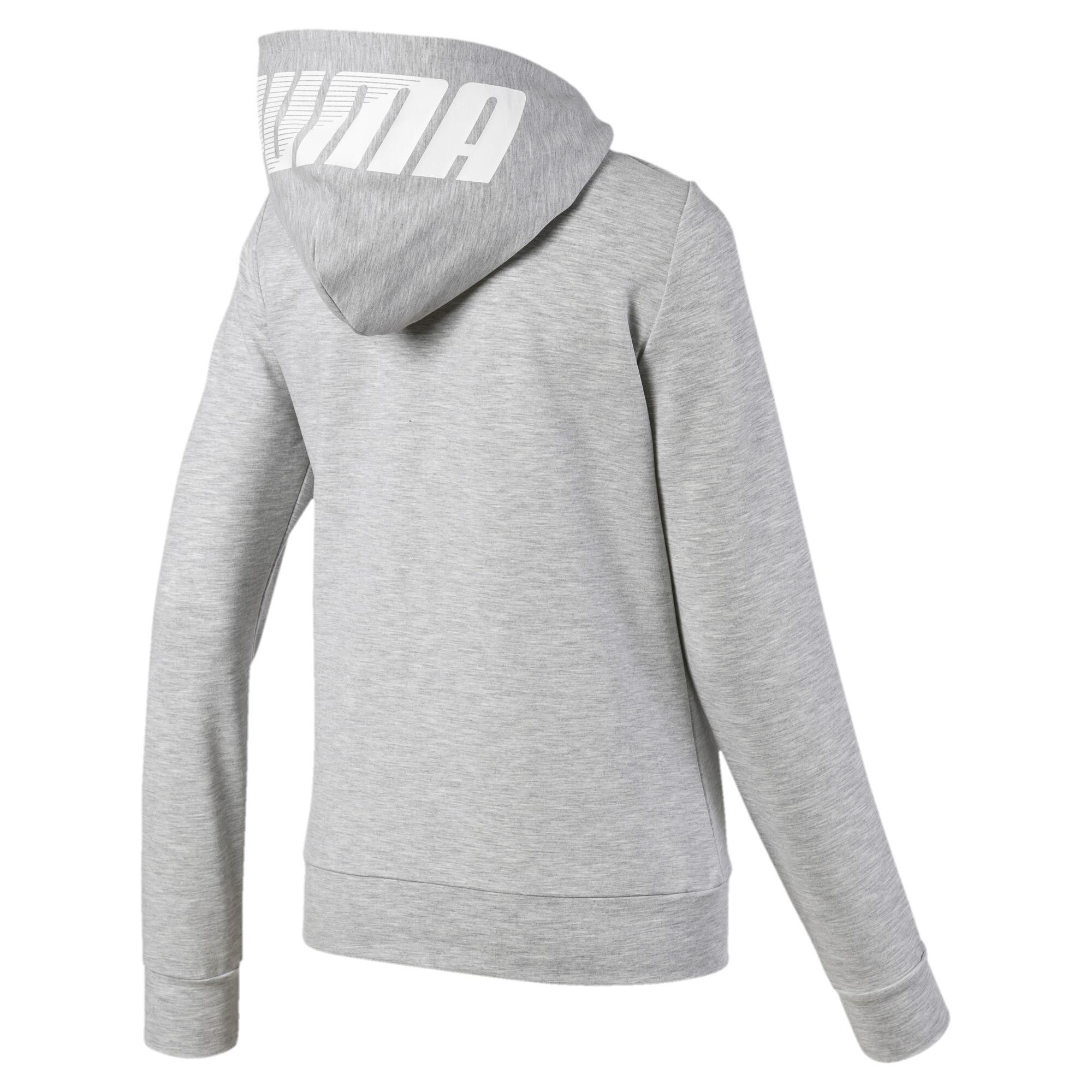 PUMA-Women-039-s-Modern-Sports-Full-Zip-Logo-Hoodie thumbnail 3