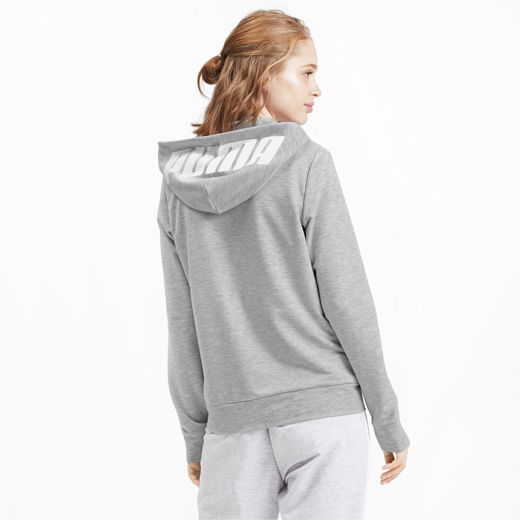 PUMA-Women-039-s-Modern-Sports-Full-Zip-Logo-Hoodie thumbnail 5