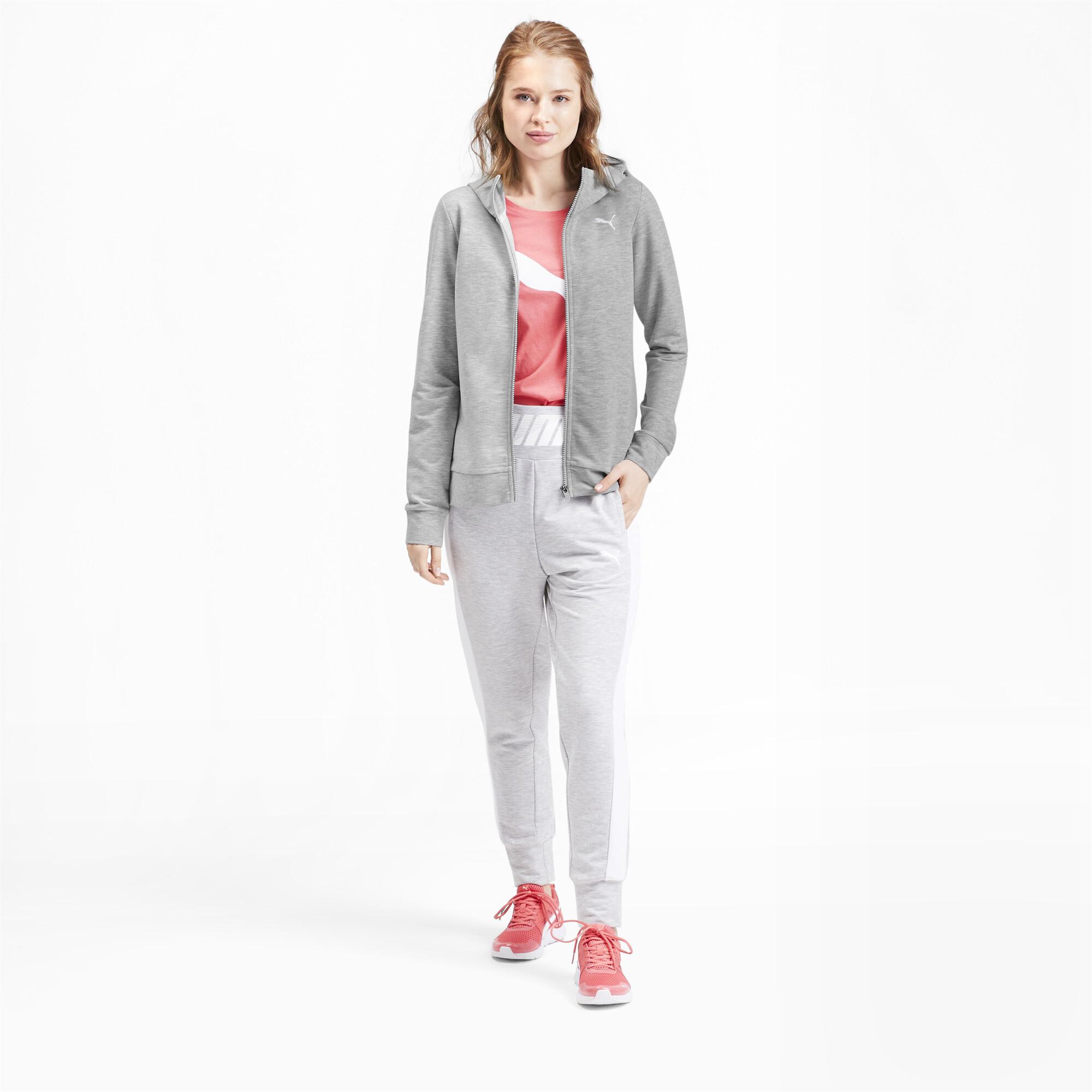 PUMA-Women-039-s-Modern-Sports-Full-Zip-Logo-Hoodie thumbnail 6