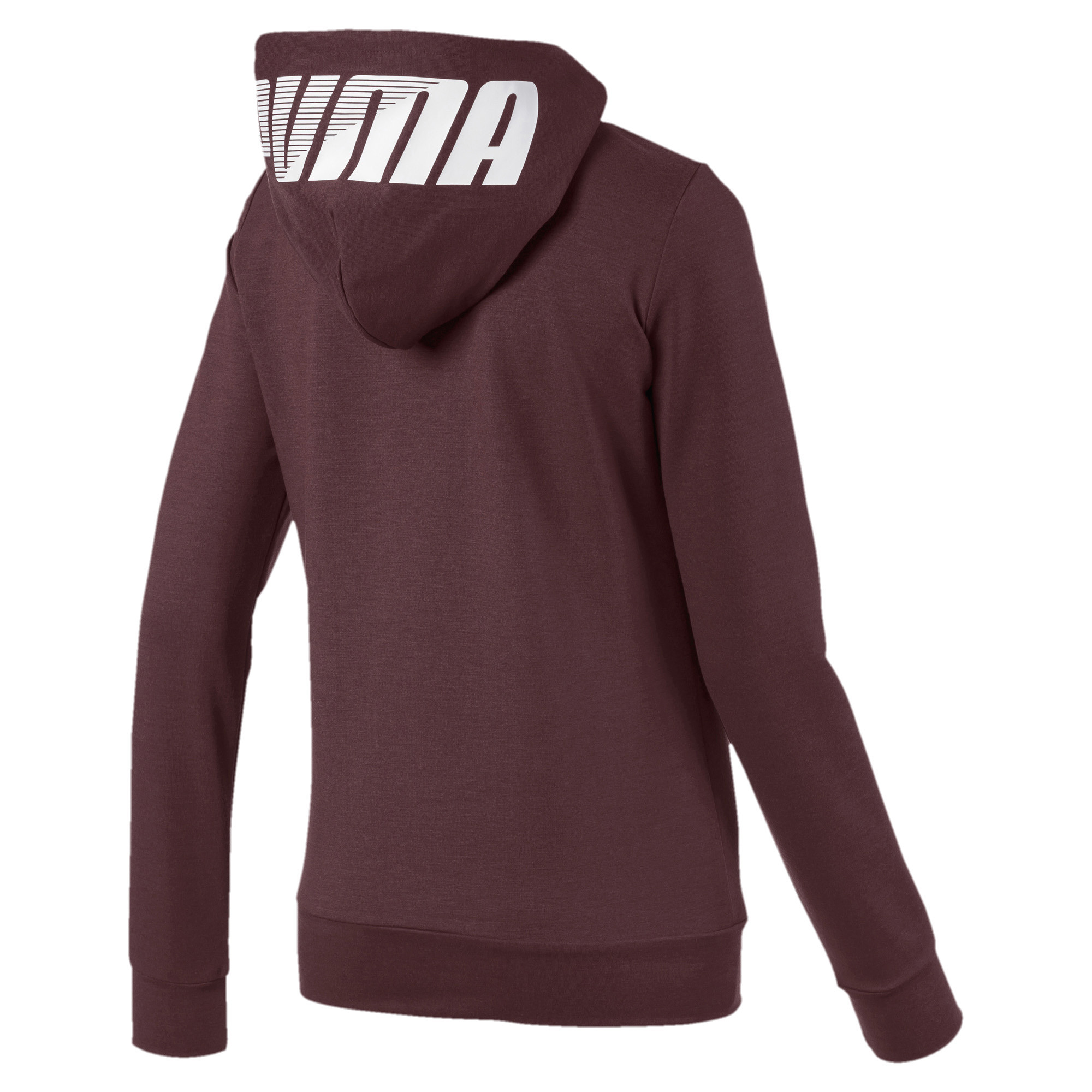 PUMA-Women-039-s-Modern-Sports-Full-Zip-Logo-Hoodie thumbnail 8