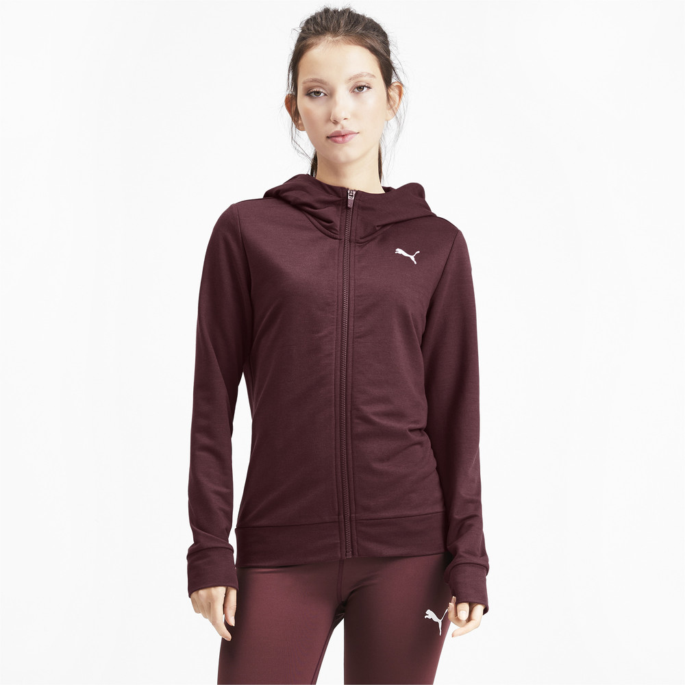 Image PUMA Modern Sport Graphic Full Zip Women's Hoodie #2