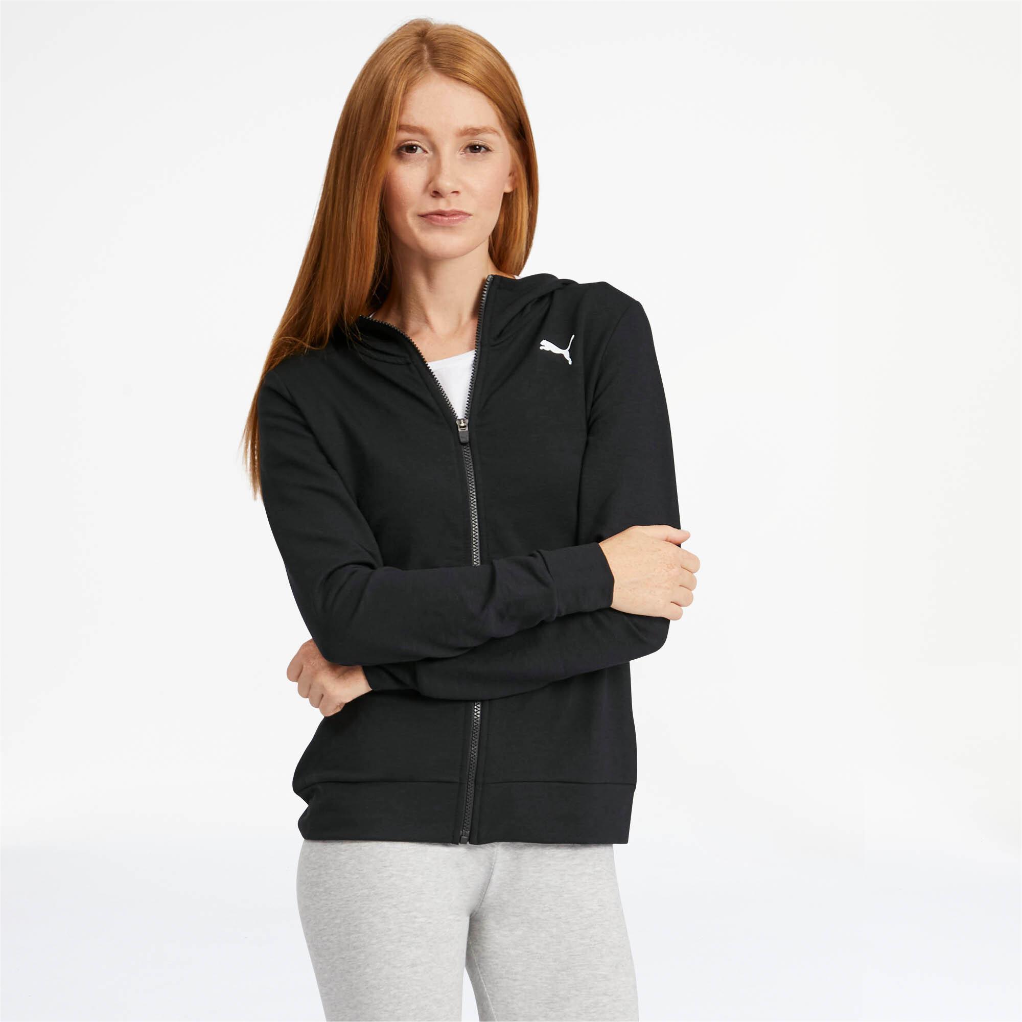 PUMA-Women-039-s-Modern-Sports-Full-Zip-Logo-Hoodie thumbnail 24