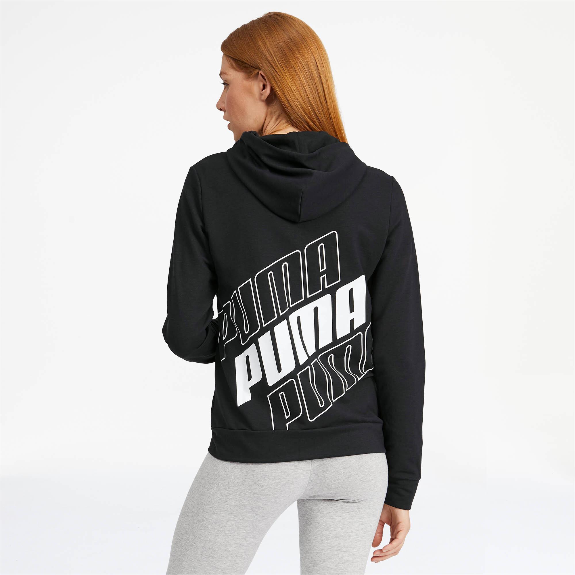 PUMA-Women-039-s-Modern-Sports-Full-Zip-Logo-Hoodie thumbnail 25