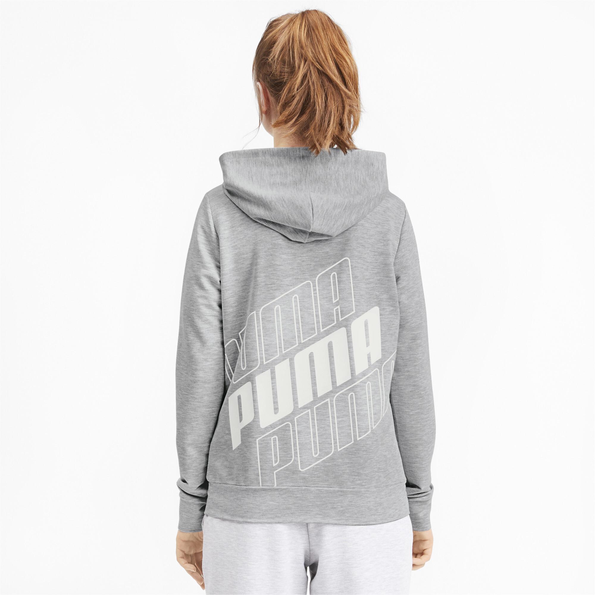 PUMA-Women-039-s-Modern-Sports-Full-Zip-Logo-Hoodie thumbnail 20