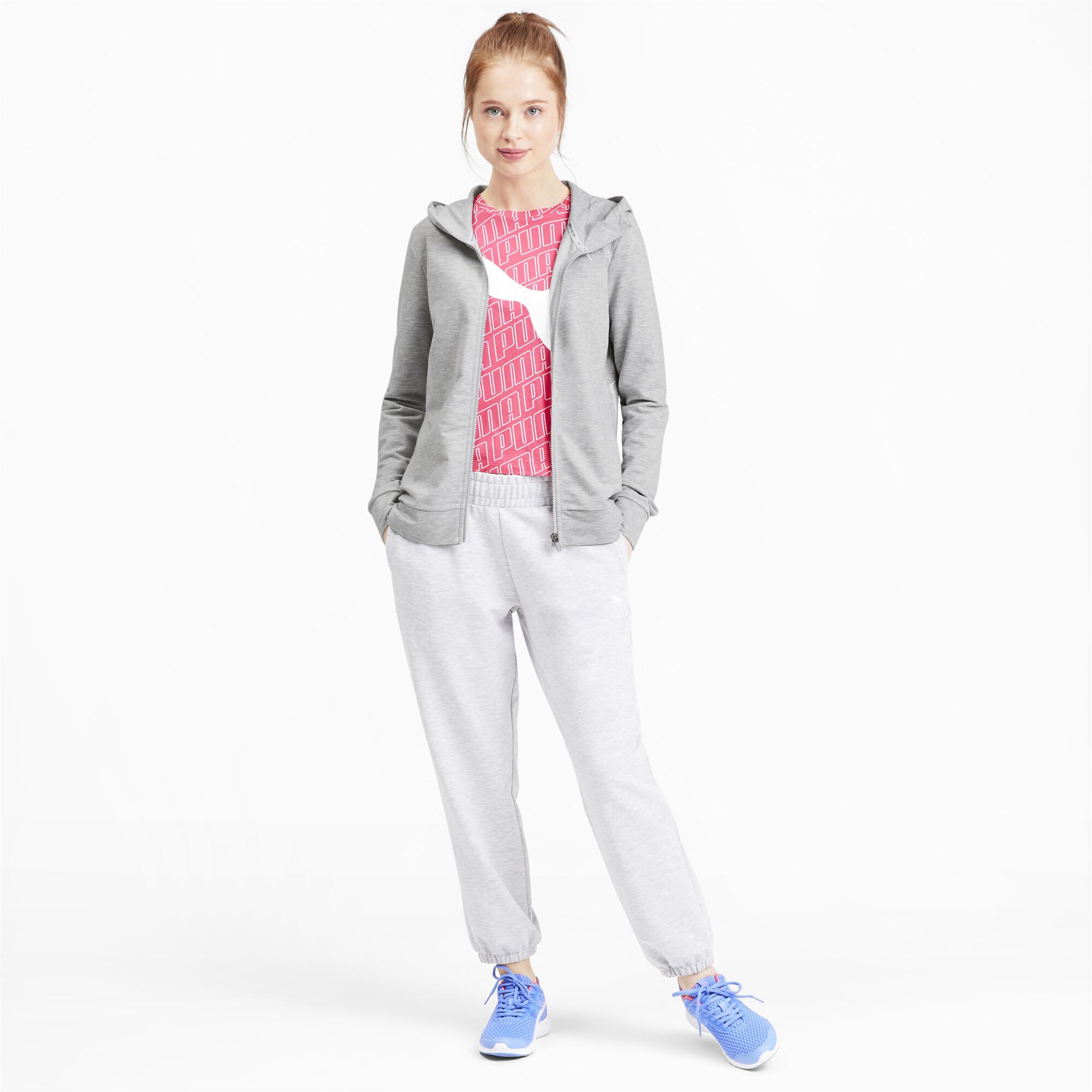 PUMA-Women-039-s-Modern-Sports-Full-Zip-Logo-Hoodie thumbnail 21