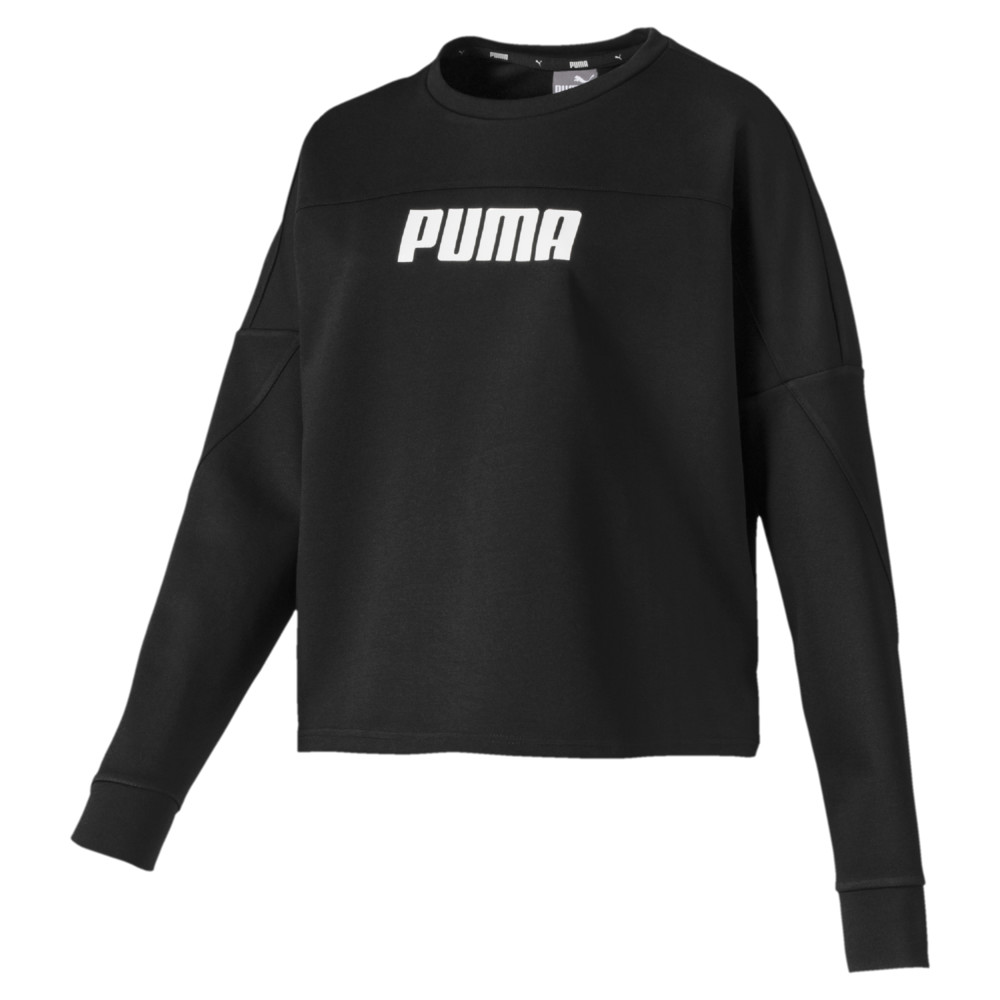 Image PUMA NU-TILITY Cropped Crew Women's Sweater #1