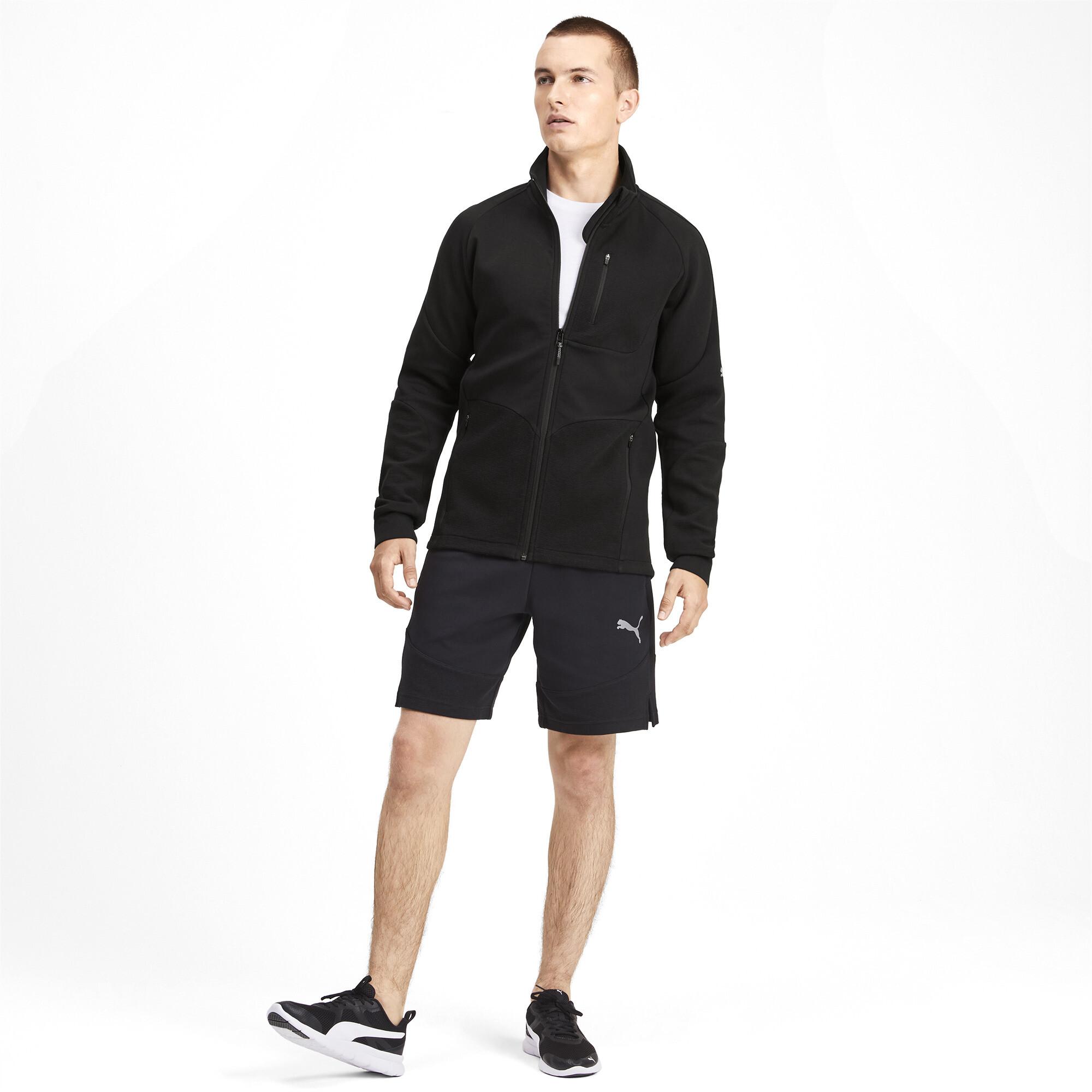 PUMA-Evostripe-Men-039-s-Jacket-Men-Sweat-Basics thumbnail 6