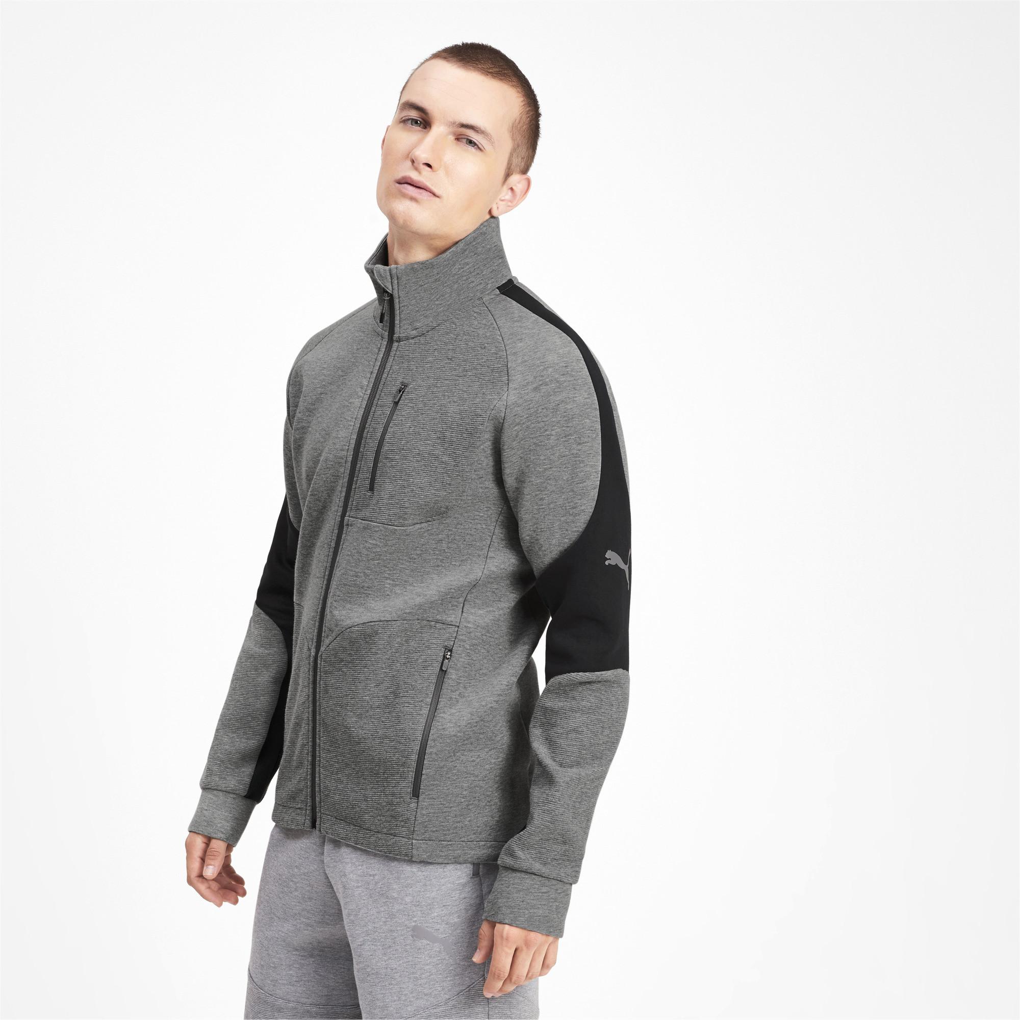 PUMA-Evostripe-Men-039-s-Jacket-Men-Sweat-Basics thumbnail 9
