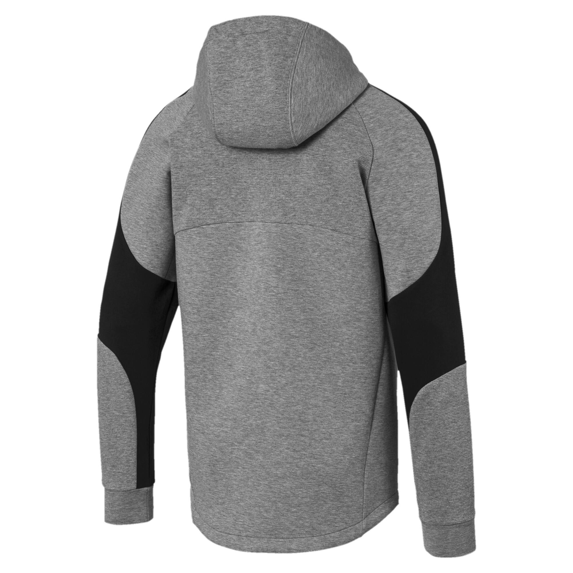 PUMA-Evostripe-Men-039-s-Full-Zip-Hoodie-Men-Sweat-Basics thumbnail 13