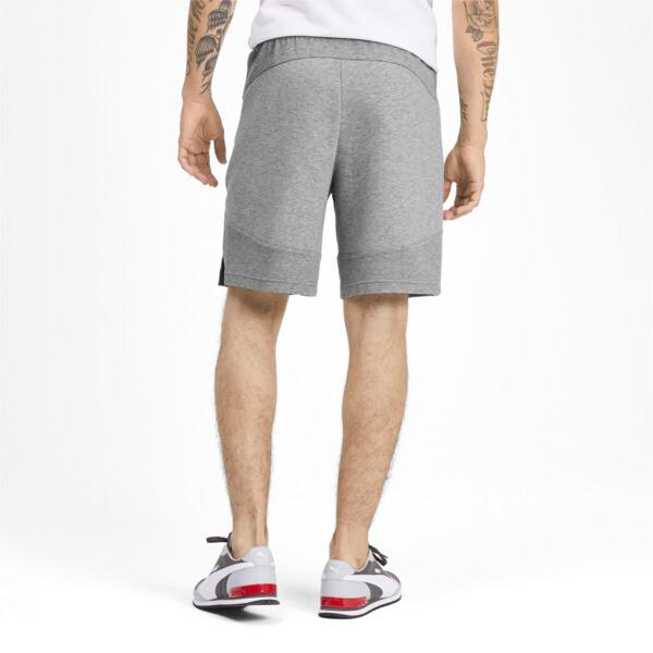 Shorts Evostripe para hombre, Medium Gray Heather, grande