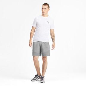 Miniatura 3 de Shorts Evostripe para hombre, Medium Gray Heather, mediano