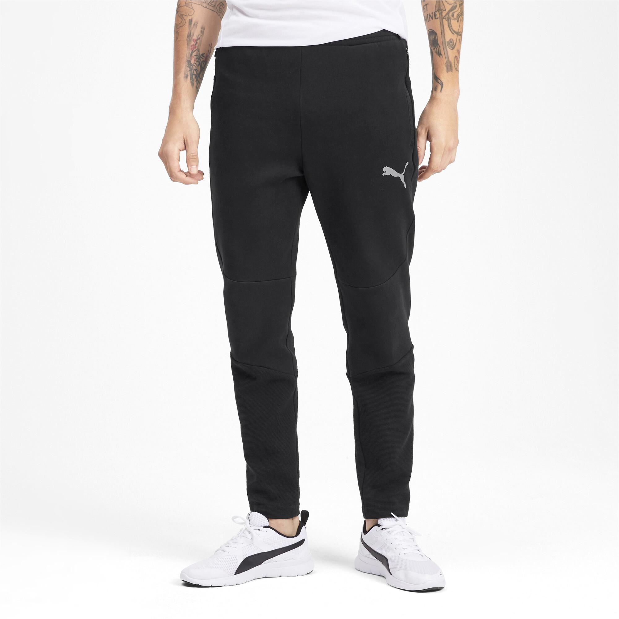 PUMA-Evostripe-Men-039-s-Pants-Men-Knitted-Pants-Basics thumbnail 9