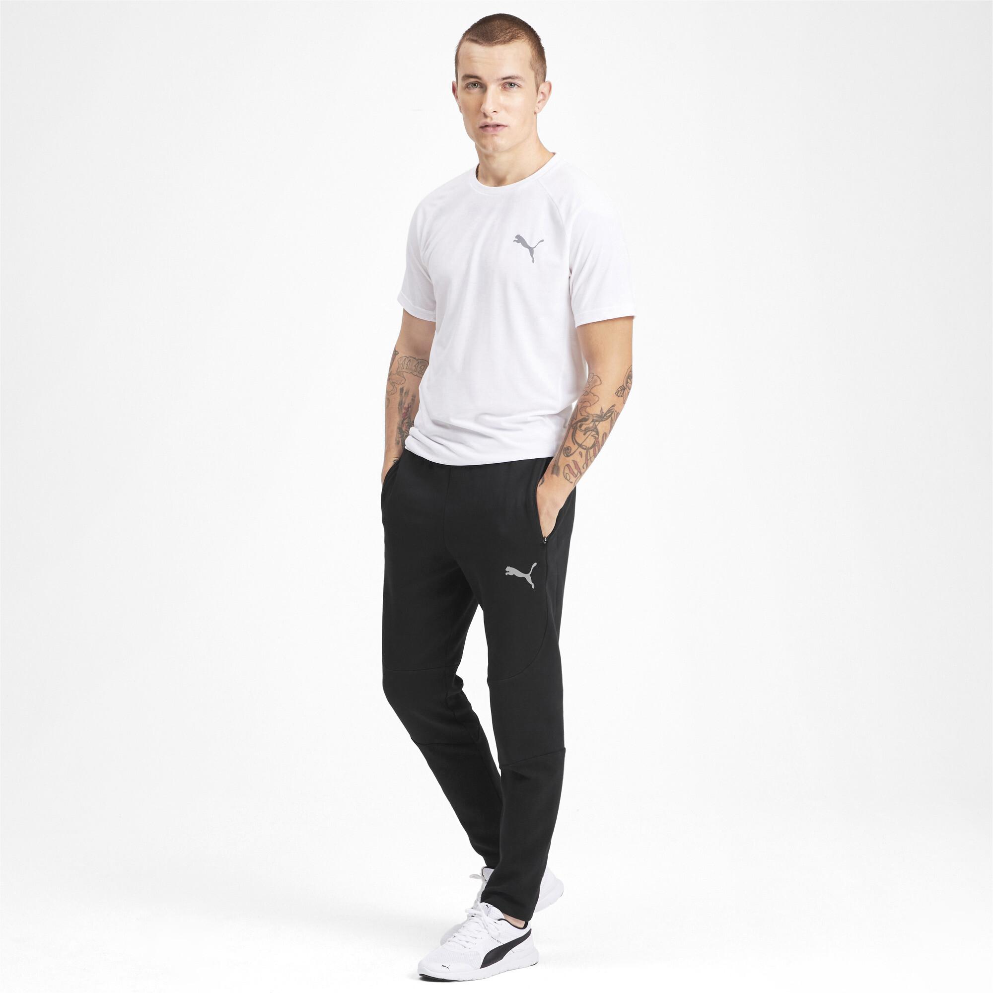 PUMA-Evostripe-Men-039-s-Pants-Men-Knitted-Pants-Basics thumbnail 11