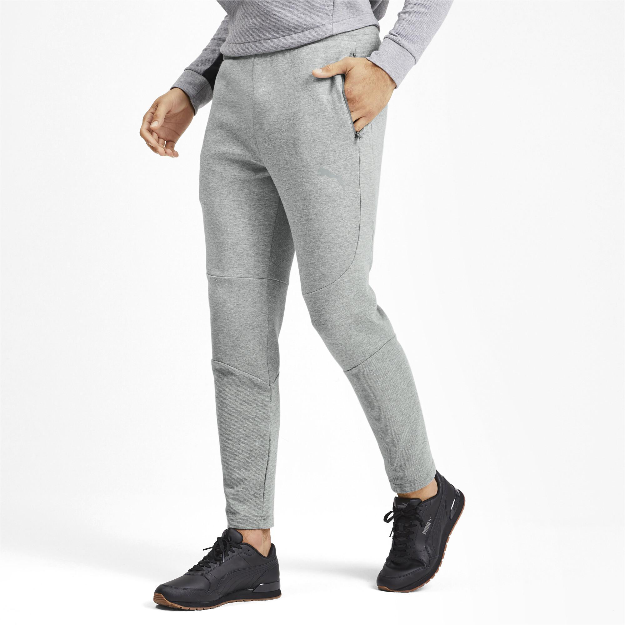 PUMA-Evostripe-Men-039-s-Pants-Men-Knitted-Pants-Basics thumbnail 4