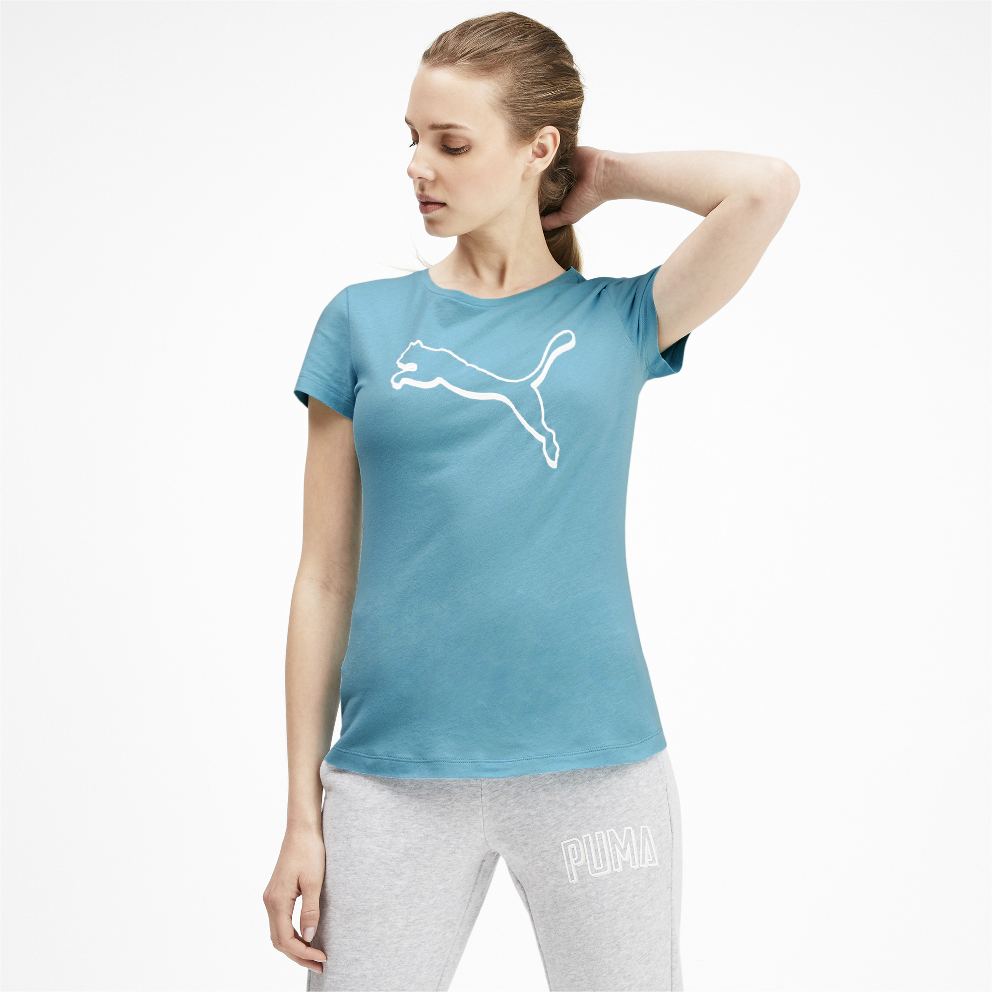 PUMA-Women-039-s-Athletics-Tee thumbnail 6