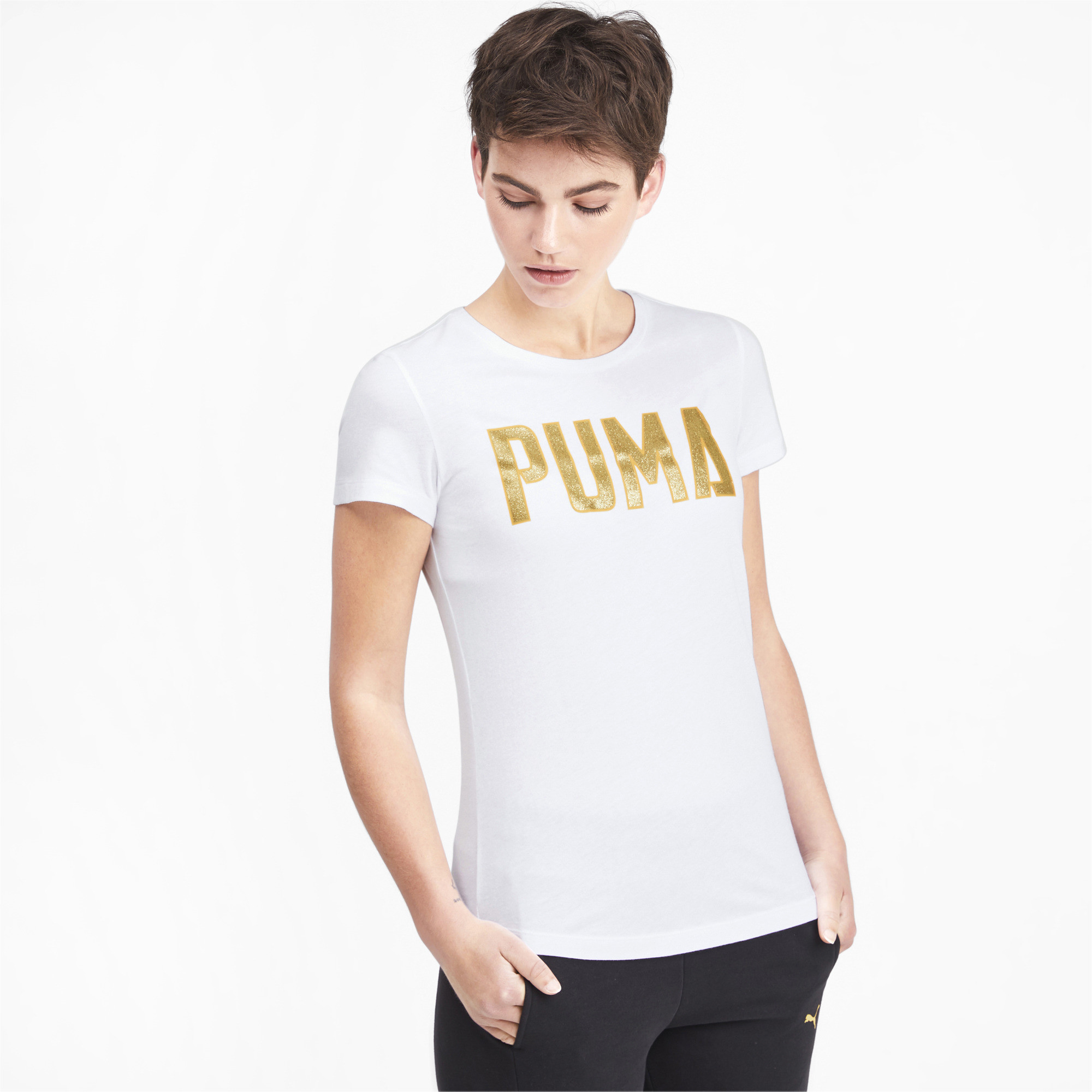 PUMA-Women-039-s-Athletics-Tee thumbnail 17