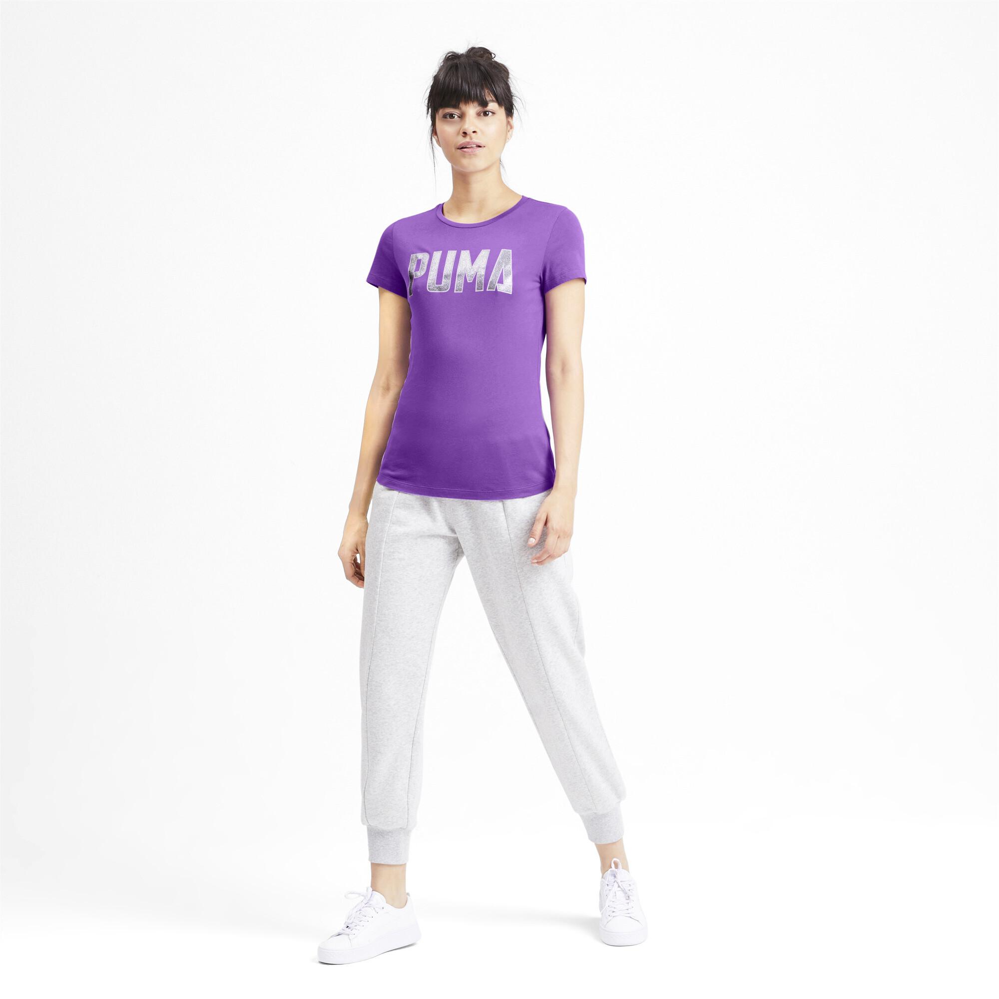 PUMA-Athletics-Women-039-s-Tee-Women-Tee-Basics thumbnail 26