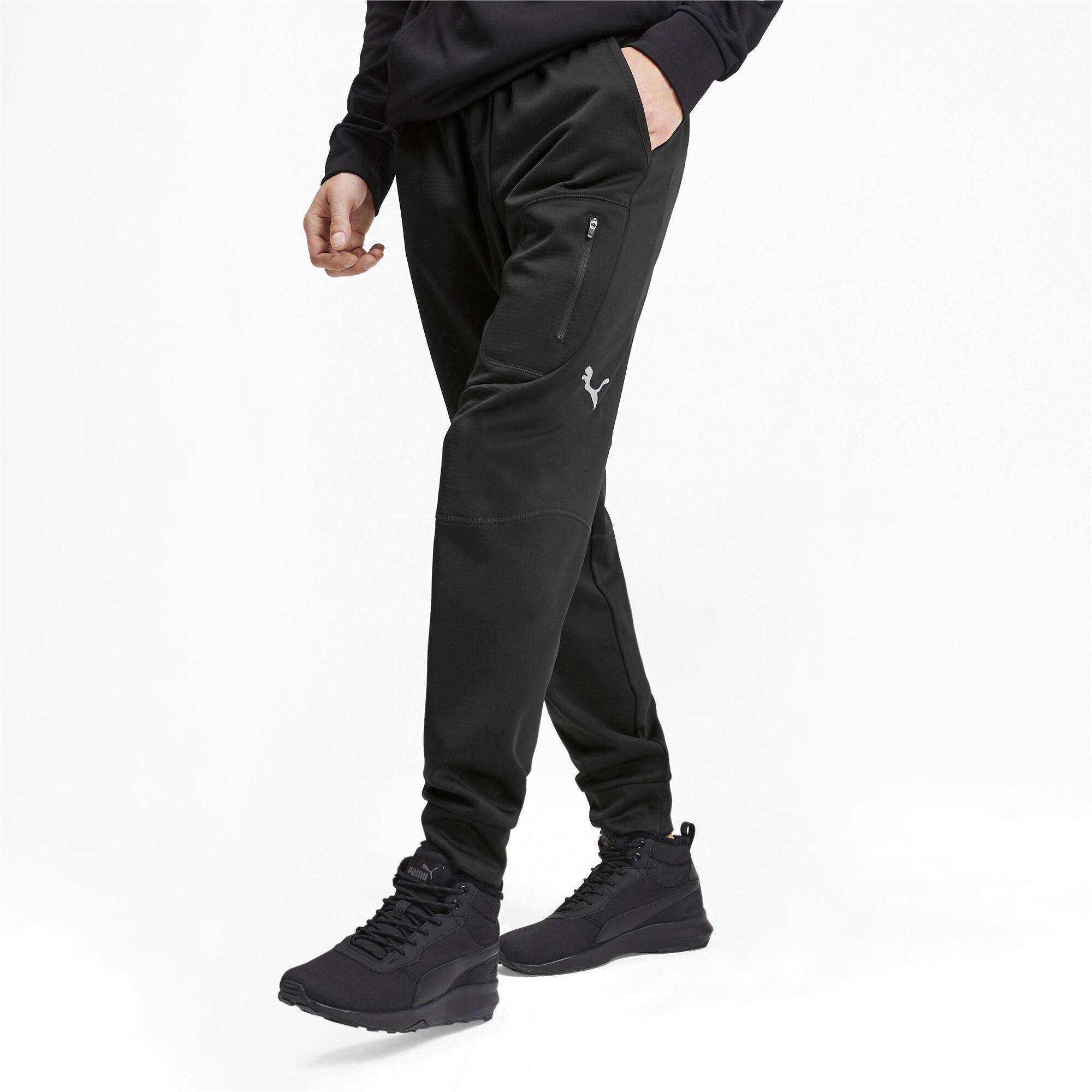 PUMA-Evostripe-Warm-Men-039-s-Pants-Men-Knitted-Pants-Basics miniatura 9