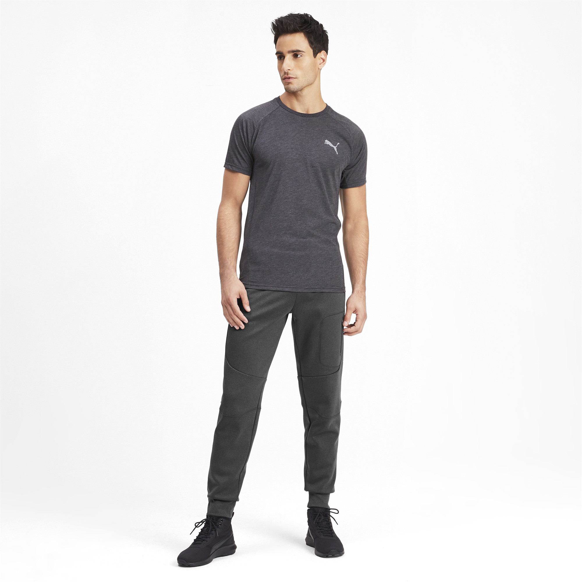 PUMA-Evostripe-Warm-Men-039-s-Pants-Men-Knitted-Pants-Basics miniatura 6
